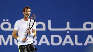 Andy Murray had beaten Rafael Nadal in the semi-final