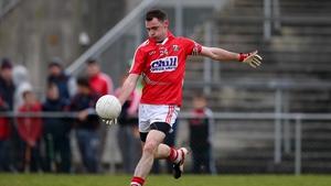 Cork's Donncha O'Connor scores a free