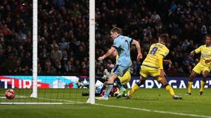 James Milner scrambles home City's late winner