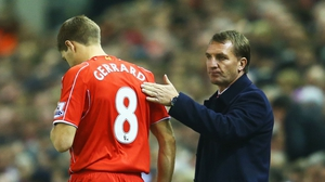 Brendan Rodgers looks unlikely to link back up with Steven Gerrard