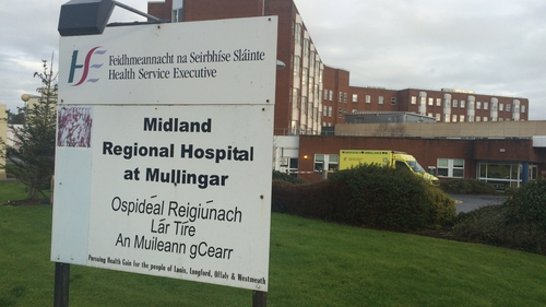 The passenger of the car, a woman also in her 60s, was injured and taken to Midland Regional Hospital in Mullingar