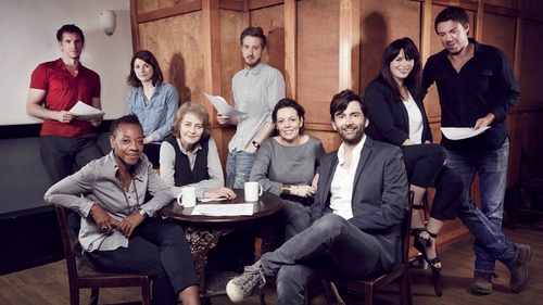 The cast of Broadchurch have not seen any episodes from the second series