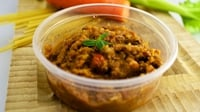 Mummy Cooks Double Batch Bolognese - Try batch cooking your bolognese and freezing leftovers for lazy nights! This recipe makes a whopping 10-12 adult portions.