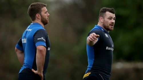 Sean O'Brien and Cian Healy may feature for Leinster against Newport Gwent Dragons in the Pro12 on 15 February