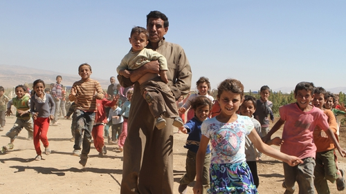 There are more than one million Syrian refugees in Lebanon