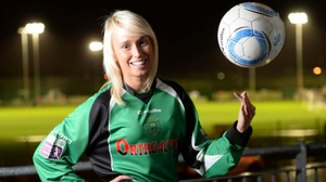 Stephanie Roche has competition from James Rodríguez and Robin van Persie for the goal of the year award