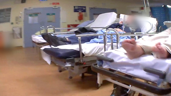 Overcrowding in Emergency Departments is 'not safe' for patients or staff