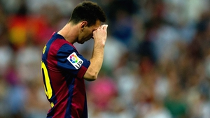 Lionel Messi is at the centre of a row at Barcelona
