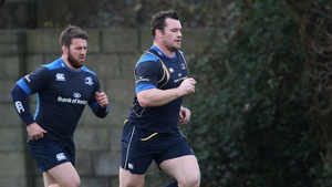 Sean O'Brien and Cian Healy are continuing individual rehabilitation programmes
