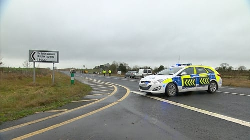The road is closed for a forensic examination and diversions remain in place