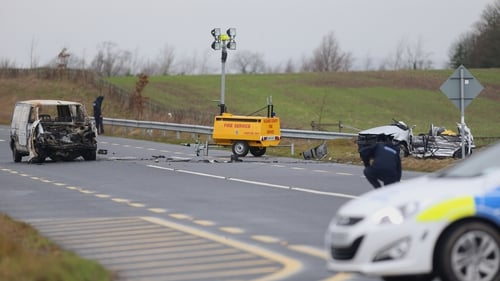 Four young friends travelling in a Volkswagen Polo died in the crash