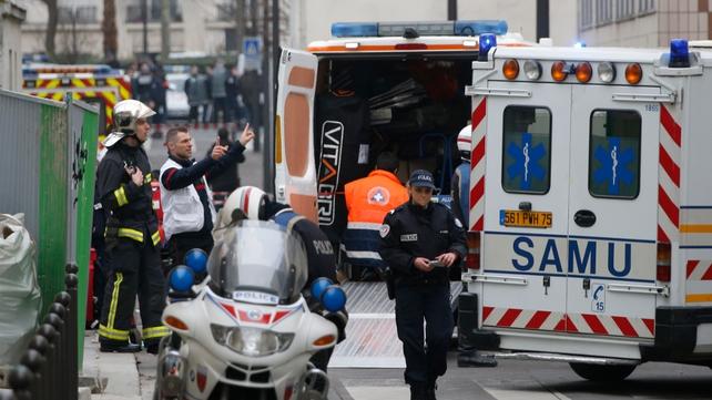 Francois Hollande described the shooting as a 'terrorist attack'