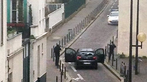 Gunmen carried out attack on newspaper's offices in Paris