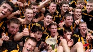 Kilkenny's minors celebrate their All-Ireland win last September