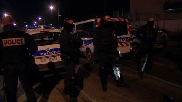 Members of France's elite police unit are in the city of Reims