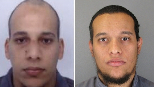 Cherif Kouachi (left) and his brother Said killed 12 people in the attack on the Charlie Hebdo magazine