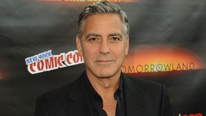 Clooney - New film is released on Friday May 22