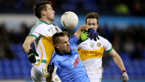 Offaly's John Ledwith and Philip Ryan of Dublin