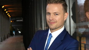 Nicky Byrne. Could he representing Ireland in this year's Eurovision?