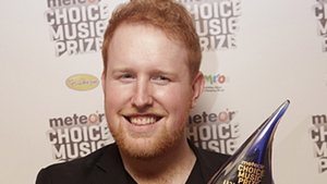 Gavin James played tonight's Berkeley fundraiser in Dublin venue The Academy