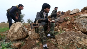 Fighters from the Al-Nusra front, Al-Qaeda's Syrian offshoot