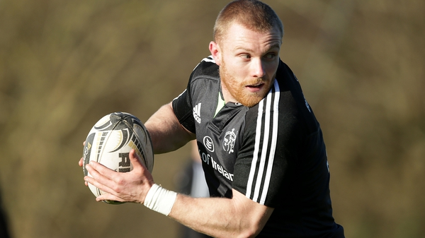 Keith Earls is set to return from a long-term knee injury