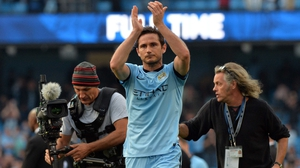 Frank Lampard left Man City for New York City at the end of last season