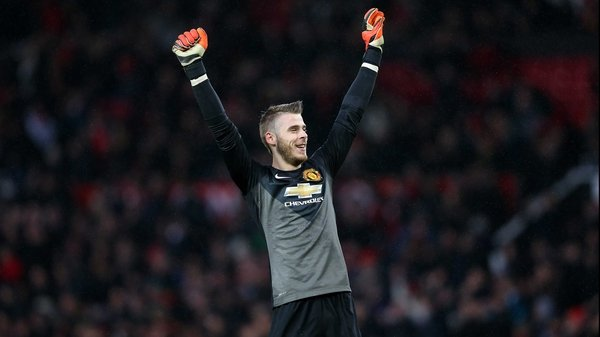 David de Gea will not be considered for Friday's Premier League clash with Aston Villa