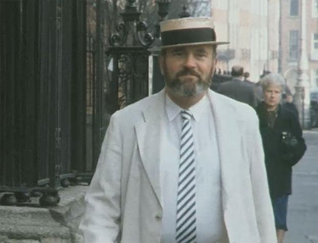 David Norris in Joycean Costume