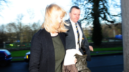 Bernadette Scully arriving at court this morning (Pic: APX Photography)