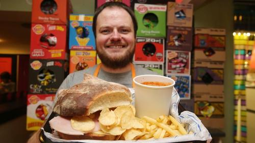 Andrew McMenamin, owner of Simply Crispy