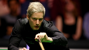 Neil Robertson is into the last eight at Ally Pally
