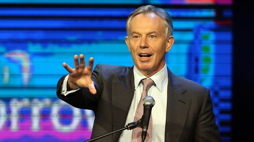 Tony Blair was appointed to the unpaid position in 2007