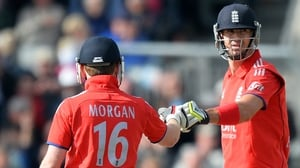 Eoin Morgan will captain England in next month's World Cup but former team-mate Kevin Pietersen will be absent
