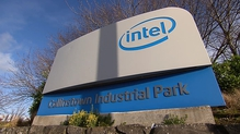 Intel employs 4,500 people at its manufacturing campus in Leixlip
