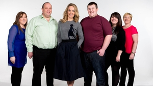 Kathryn Thomas with this year's Operation Transformation leaders