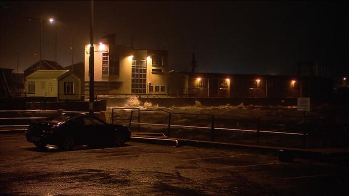 Big storm hits Ireland