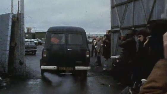 IRA Prisoners Released from Long Kesh Prison
