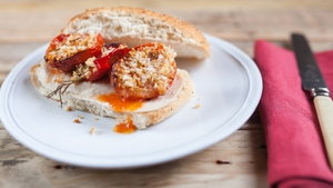 Roasted Tomato and Red Pepper with Breadcrumbs