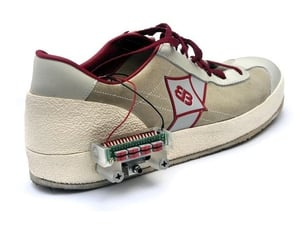 The devices were invented as part of a project to develop self-lacing shoes