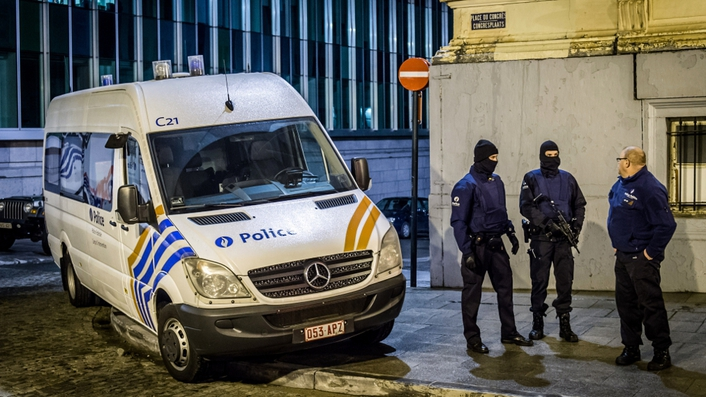 Belgium on increased alert after anti-terror raids