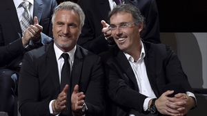 David Ginola (left) is set to enter the FIFA presidential race, if only for a couple of weeks