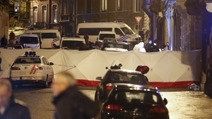 Belgian authorities said anti-terror police thwarted an imminent attack on police officers