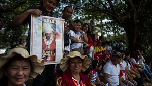 Francis called for a more just and caring society in the Philippines