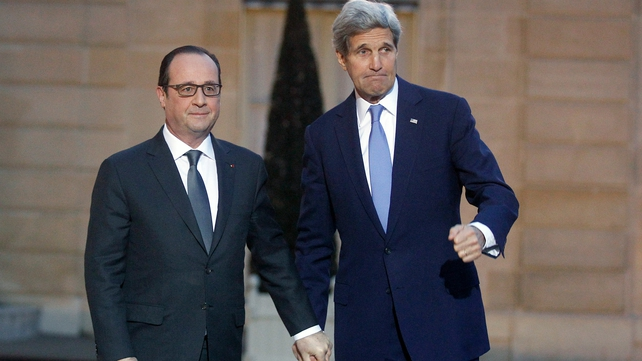 """John Kerry """"apologised"""" for missing the anti-terrorism rally in Paris"""