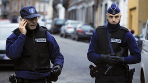 Security has been stepped up in Brussels since the airport attack in March