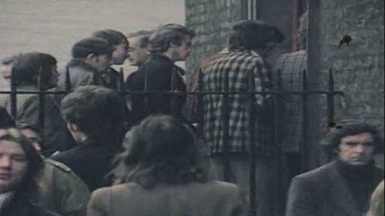Unemployed in 70s Ireland