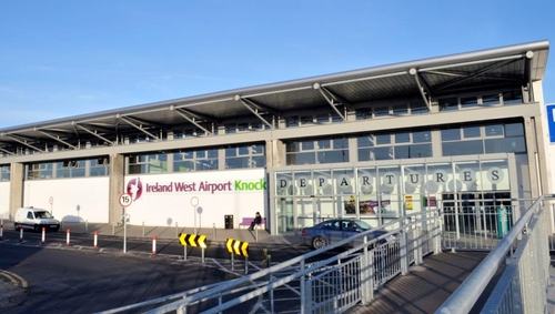 Passenger numbers at Ireland West Airport have sank over 90% so far this year