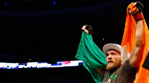 Conor McGregor is among 14 nominees for the Sport Person of the Year Award