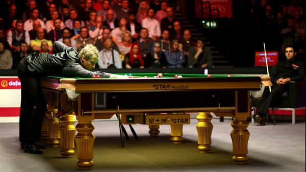 Neil Robertson: 'I almost made a meal of it when I had to cut that red in, but I'm very relieved to get through'